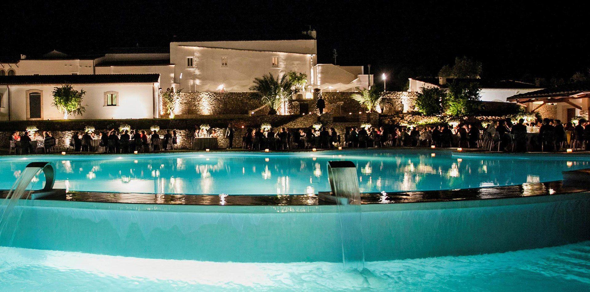 Location matrimoni con ristorante e piscina per cerimonie a foggia tenuta corigliano puglia - Piscina assori foggia prezzi ...